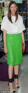 Jenna Green Sequin Skirt